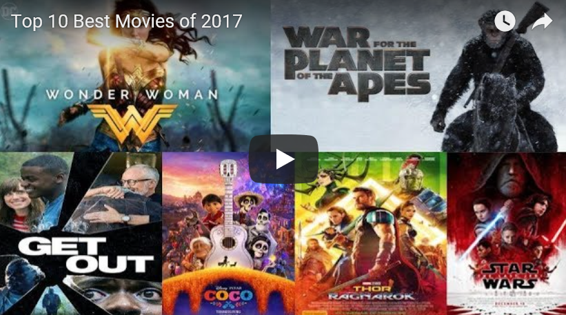 Top 10 Best Movies of 2017