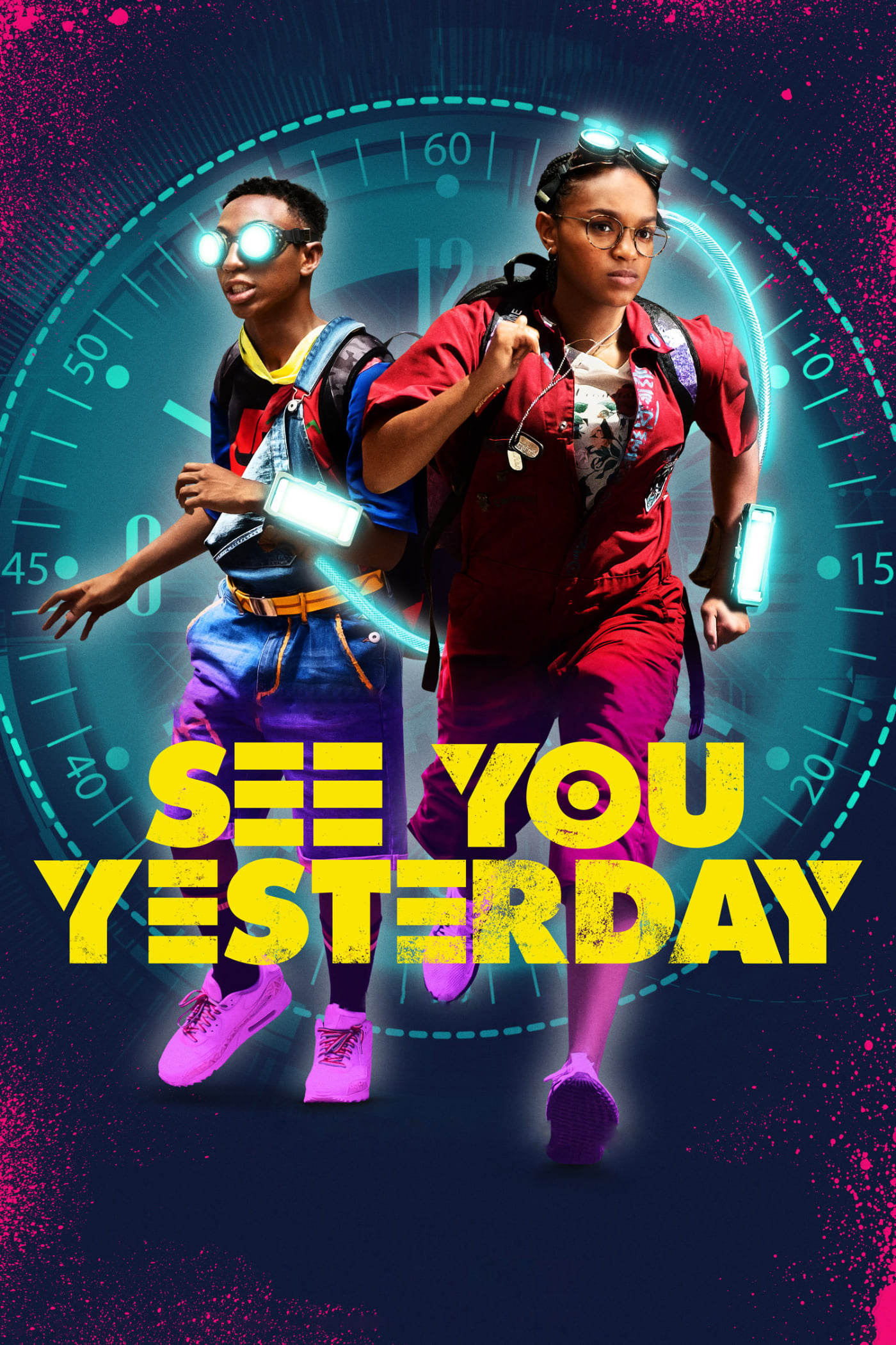 "Poster for the movie ""See You Yesterday"""
